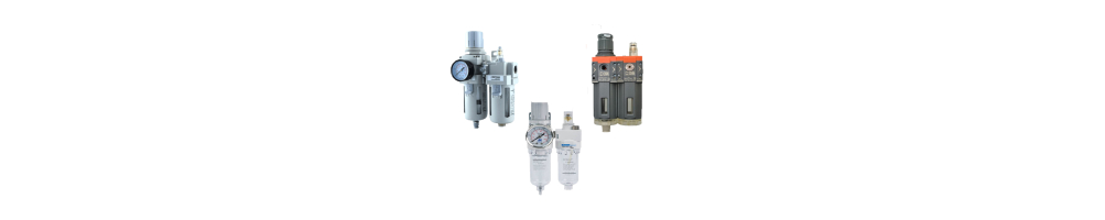 """Elements for pneumatic treatment compressed air 1/2"""" 